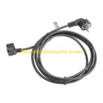 Aansluitsnoer Stekker Elektrisch 230V (Zwart)