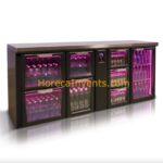 Gamko Flexbar Buffetkoeling X/MU of XHC/MU Glas Laden en Witte LED Samen te Stellen