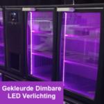 Ombouwset van Witte LED naar Gekleurde Dimbare LED E3/22