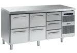 Gram Gastro K 1807 CSG A 2D/2D/3D L2 Koelwerkbank 3 Laden sectie 1/1 GN
