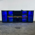 Gamko Flexbar Buffetkoeling X/1HB + Laden- & Deur Segmenten Glas Kleuren LED bj 2012-26