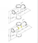 Tapzuil Industrial Line 4210 (4 Kraans) (RVS Geborsteld)