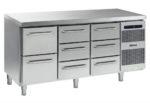 Gram Gastro K 1807 CSG A 2D/3D/3D L2 Koelwerkbank 3 Laden sectie 1/1 GN