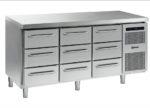 Gram Gastro K 1807 CSG A 3D/3D/3D L2 Koelwerkbank 3 Laden sectie 1/1 GN