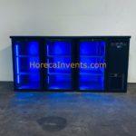 Serrco SCL-222GMU Glasdeurkoeling met Gekleurde LED 2020 ZGAN (uit faillissement)