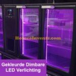 Gekleurde Dimbare LED Verlichting voor 150 Serie