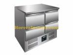 SARO Gekoelde werkbank model VIVIA S 901 S/S TOP 4 x 1/2