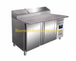 SARO Voorbereidingstafel, werkblad graniet - 1/3 GN Model SH 1500