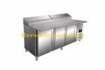 SARO Voorbereidingstafel, werkblad graniet - 1/3 GN Model SH 2000